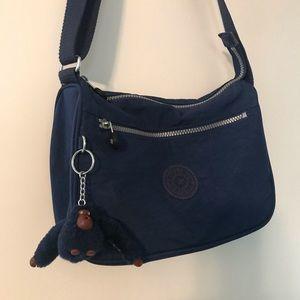 Kipling Callie Large Crossbody Handbag - Blue